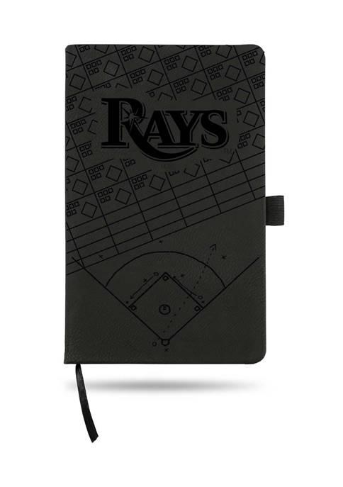 RICO MLB Tampa Bay Rays Laser Engraved Notepad
