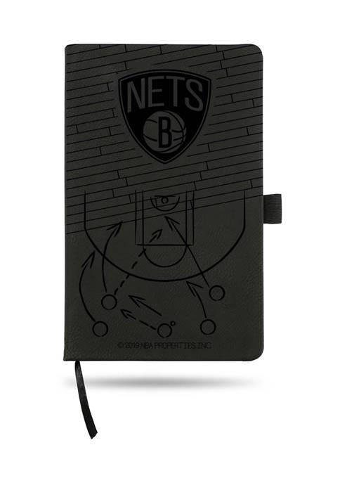 NBA Brooklyn Nets Laser Engraved Notepad