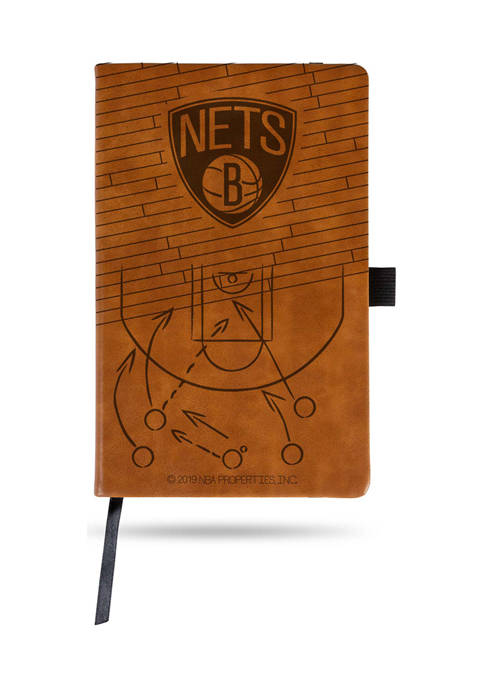 NBA Brooklyn Nets Laser Engraved Notepad
