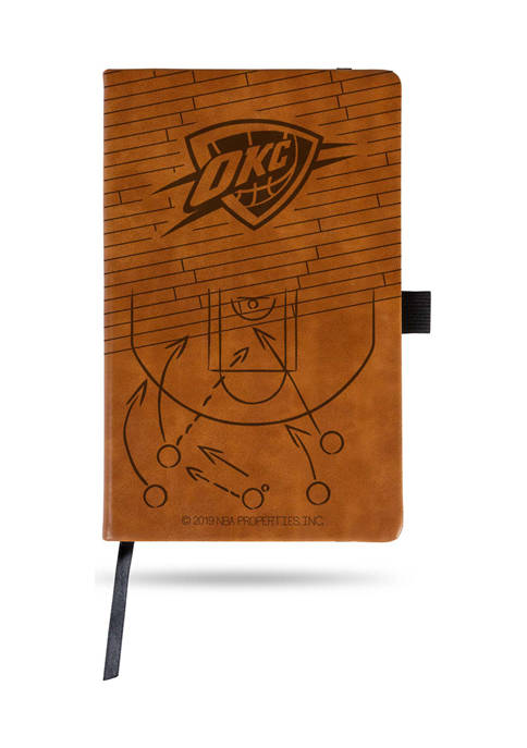 NBA Oklahoma City Thunder Laser Engraved Notepad