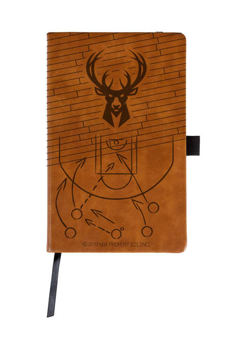 NBA Milwaukee Bucks Laser Engraved Notepad