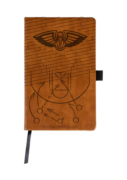 NBA New Orleans Pelicans Laser Engraved Notepad