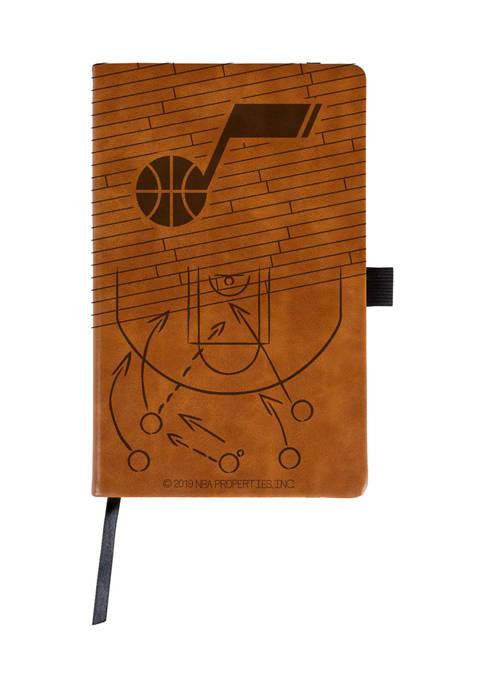 NBA Utah Jazz Laser Engraved Notepad
