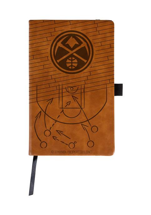 RICO NBA Denver Nuggets Laser Engraved Notepad