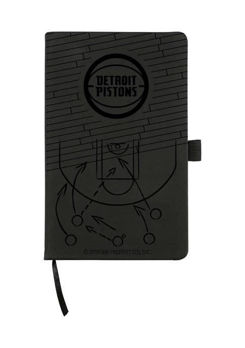 NBA Detroit Pistons Laser Engraved Notepad