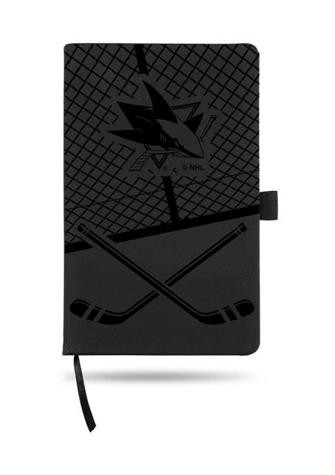 RICO NHL San Jose Sharks Engraved Note Pad