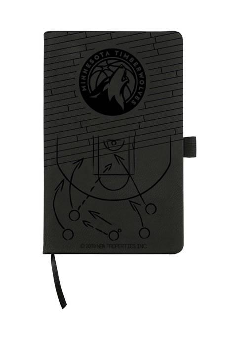 NBA Minnesota Timberwolves Laser Engraved Notepad