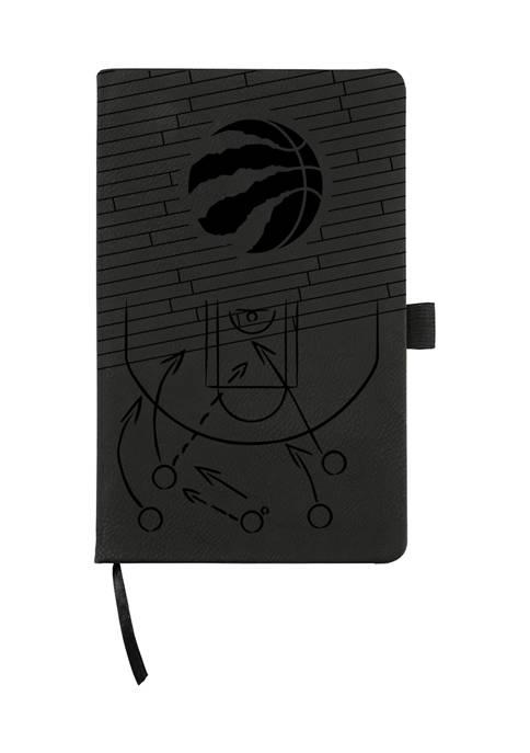 NBA Toronto Raptors Laser Engraved Notepad