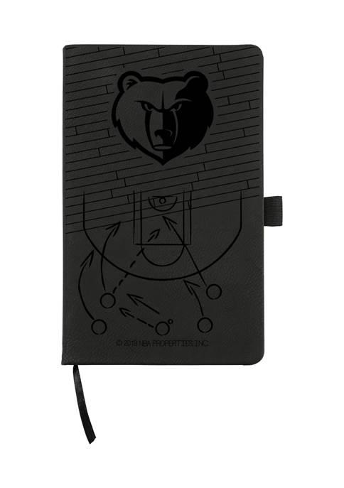 NBA Memphis Grizzlies Laser Engraved Notepad