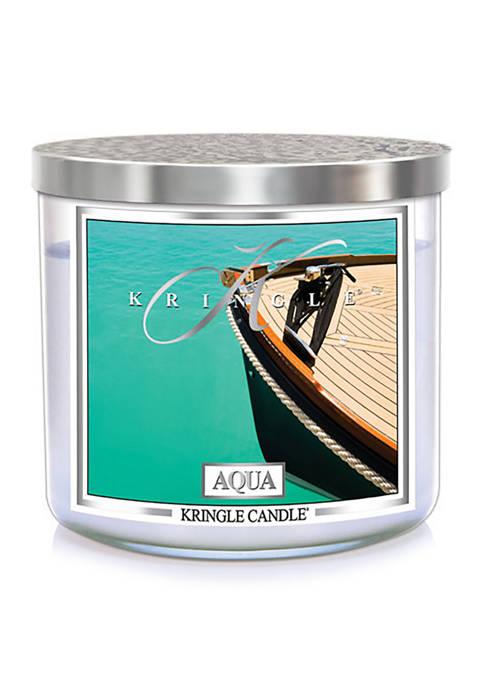 Aqua 3 Wick Candle