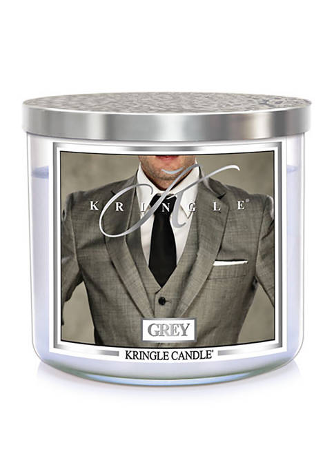 Kringle Grey 3-Wick Soy 14.5-Ounce Candle