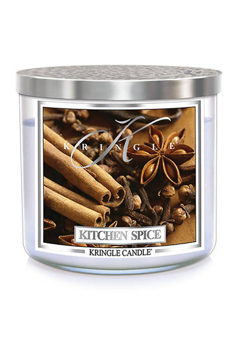 Kringle Kitchen Spice 3-Wick Soy 14.5-Ounce Candle