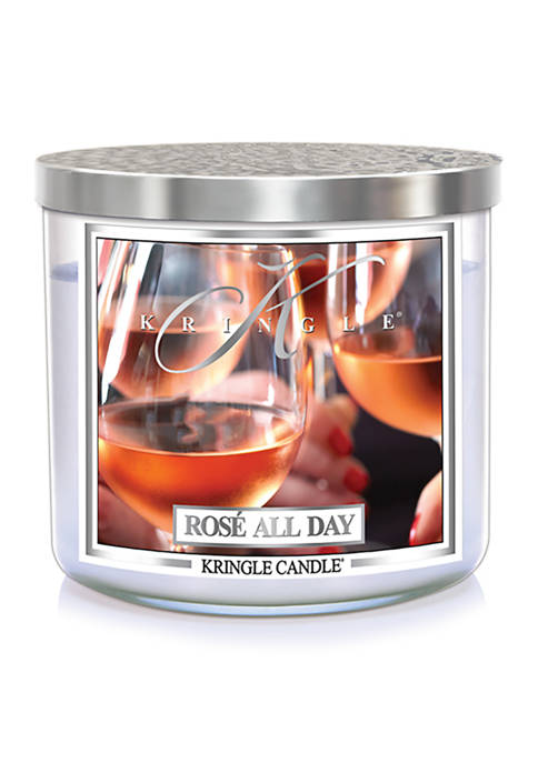 Rose All Day 3 Wick Candle