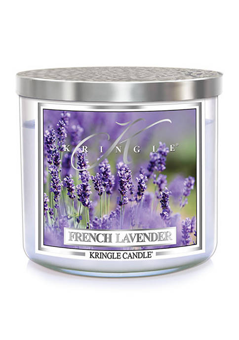 Kringle French Lavender 3-Wick Soy 14.5-Ounce Candle