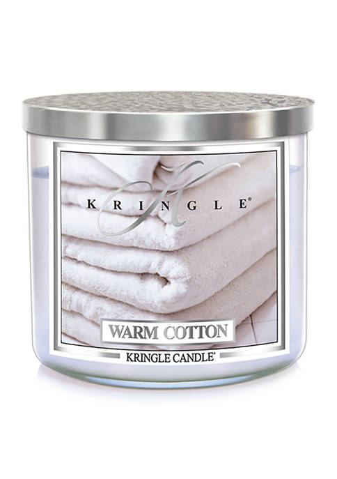 Warm Cotton 3 Wick Candle