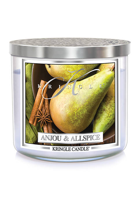 Kringle Anjou Allspice 3-Wick Soy 14.5-Ounce Candle