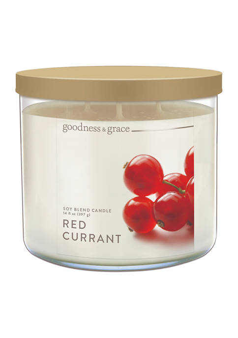 goodness & grace Red Currant Candle