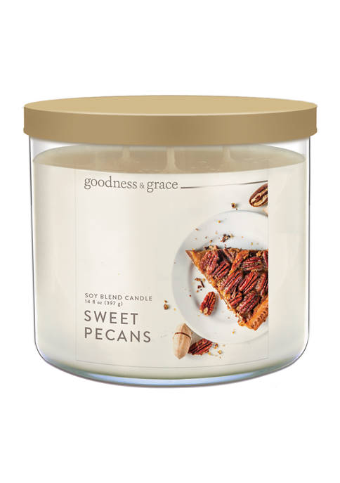 GOODNESS & GRACE/KRINGLE Sweet Pecan Candle