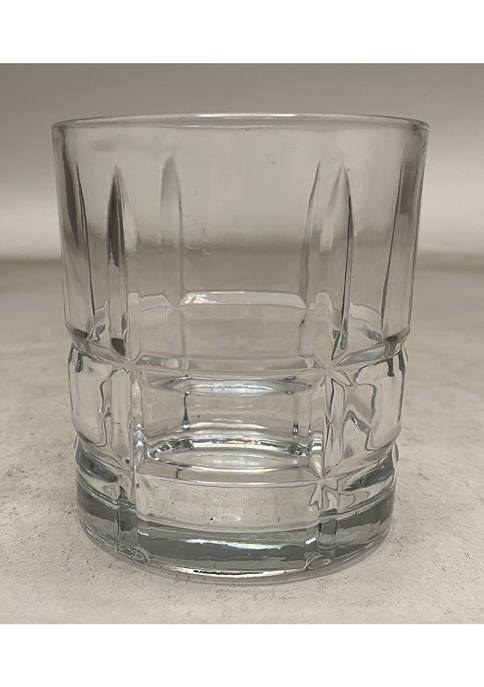 Circleware Set of 4 Double Old-Fashioned Glasses