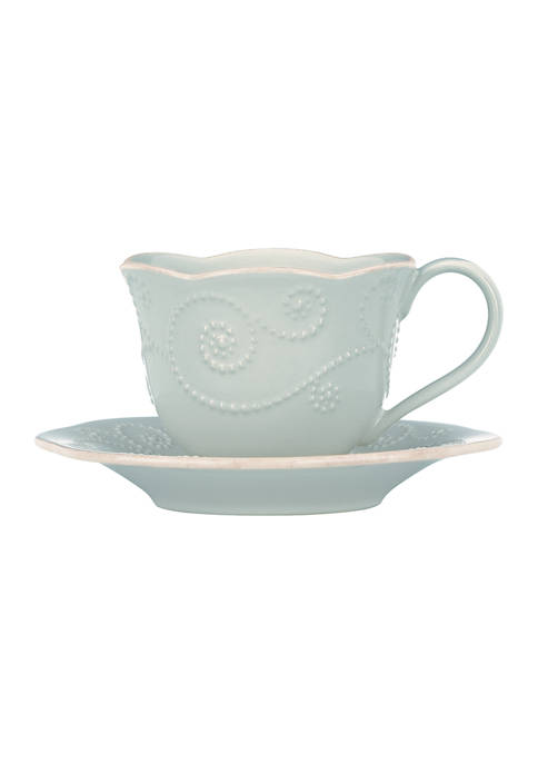 Lenox® French Perle Ice Blue Cup and Saucer