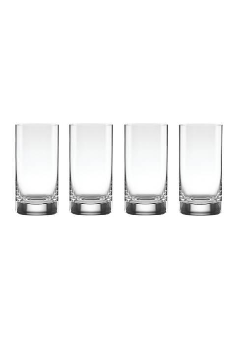 Tuscany Classics 4-Piece Highball Glass Set