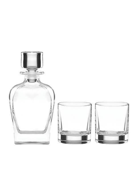 Lenox® Tuscany Classics 3-Piece Whiskey Decanter & Glass