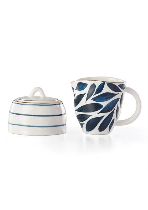 Blue Bay 2-Piece Creamer & Sugar Bowl Set