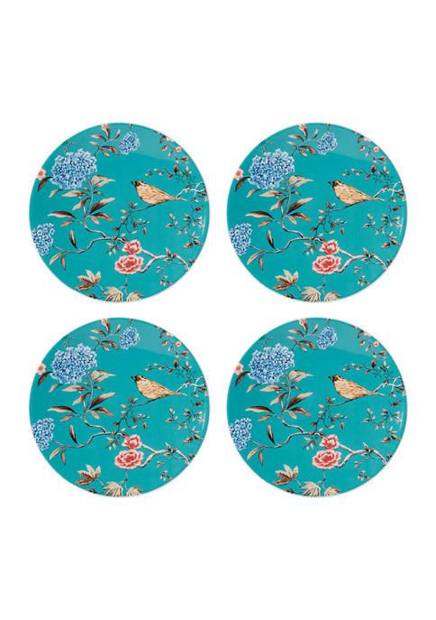 Sprig & Vine  Accent Plate Set of 4
