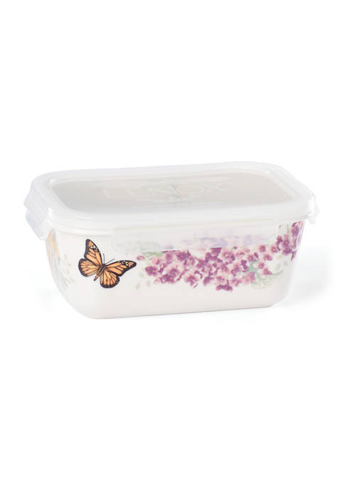 Lenox® Butterfly Meadow Rectangle Food Storage Container