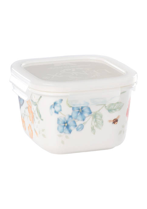 Lenox® Butterfly Meadow Large Square Food Storage Container