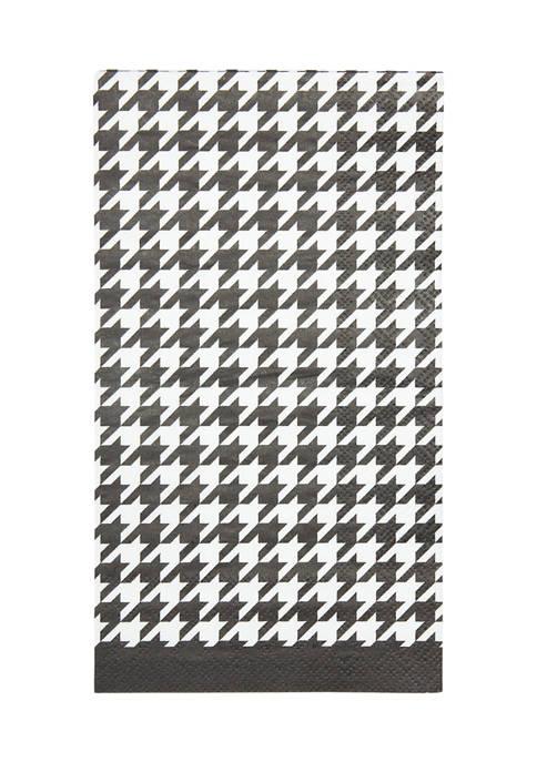 Blanc Noir Set of 16 Disposable Paper Guest Towels