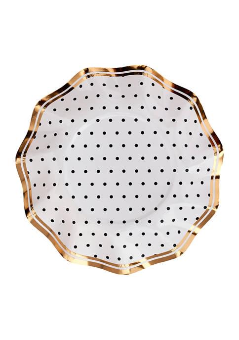 Set of 8 Disposable Paper Dessert Bowls