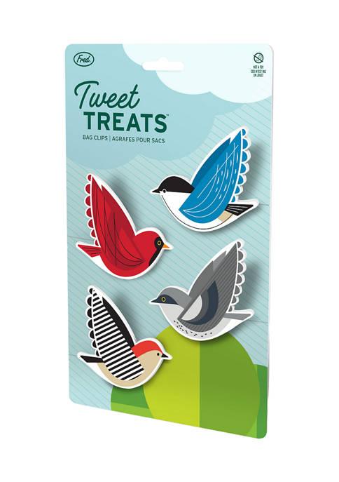 Tweet Treats - Bag Clips, Set of 4