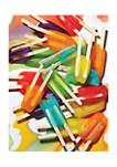 500 Piece Puzzle: Icepops by Dan Saelinger