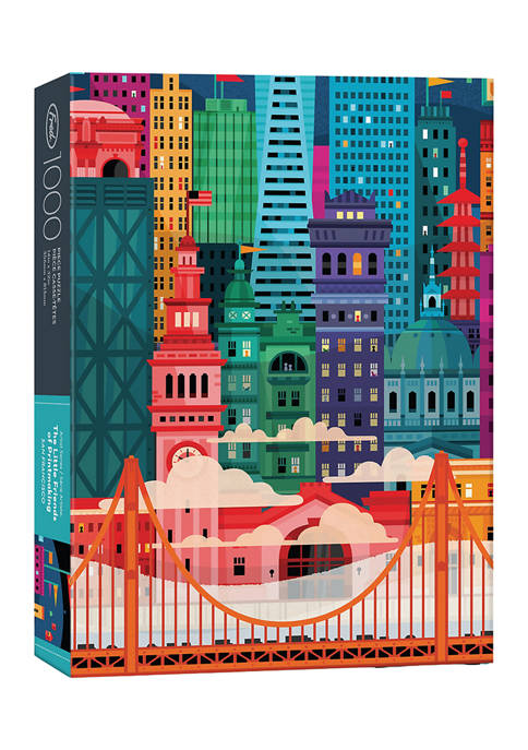 Genuine Fred 1000 Piece Puzzle: San Francisco by