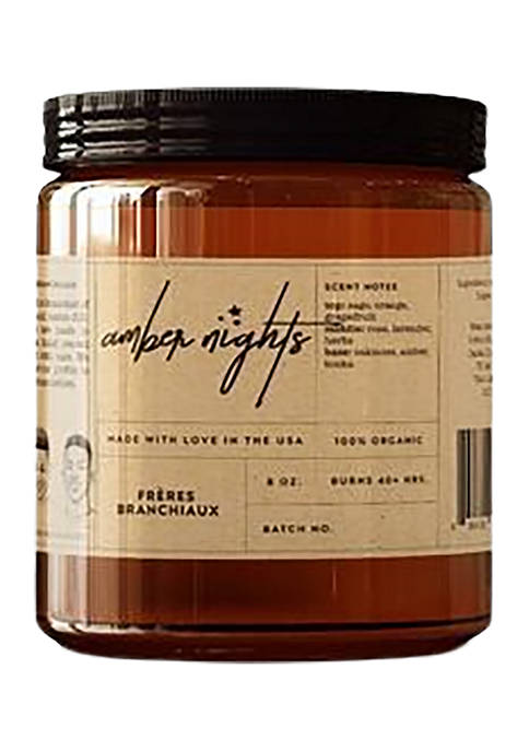 Frères Branchiaux Amber Nights Candle