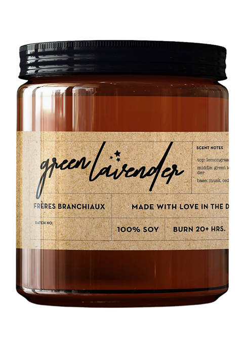 Frères Branchiaux Green Lavender Candle