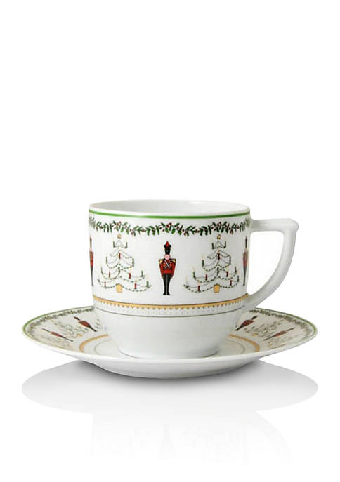 Bernardaud Grenadiers Coffee Cup