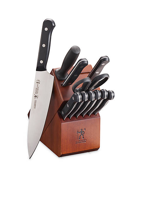 J.A. Henckels International Solution 12-Piece Knife Block Set