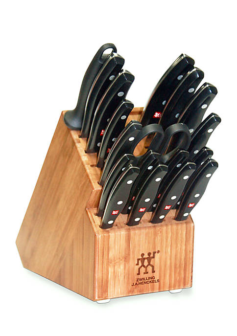Zwilling J.A. Henckels 19-Piece Twin Signature Knife Block