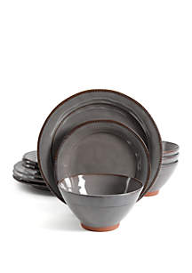 Gibson Terreanea 12 Piece Dinnerware Set