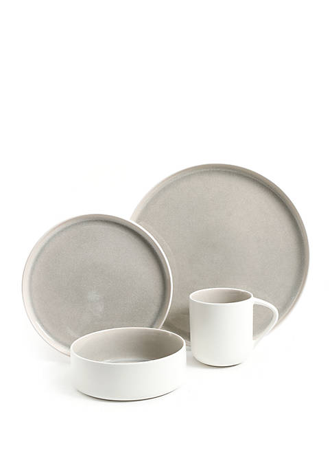 Gibson Global Edge 16 Piece Dinnerware Set