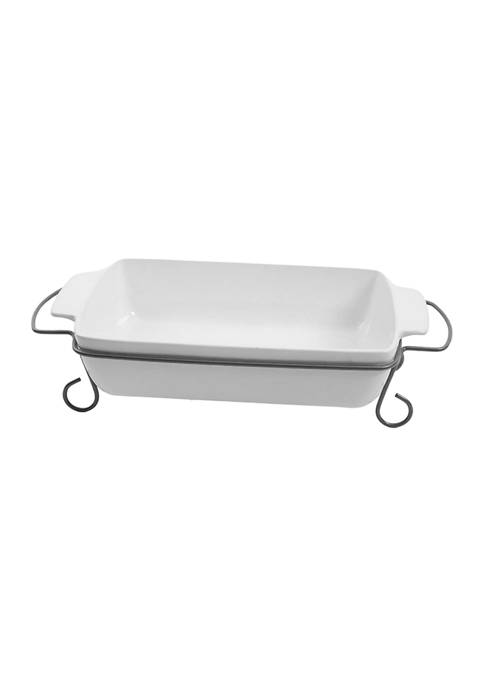 Gibson Gracious Dining 15 Inch Rectangular Bakeware with