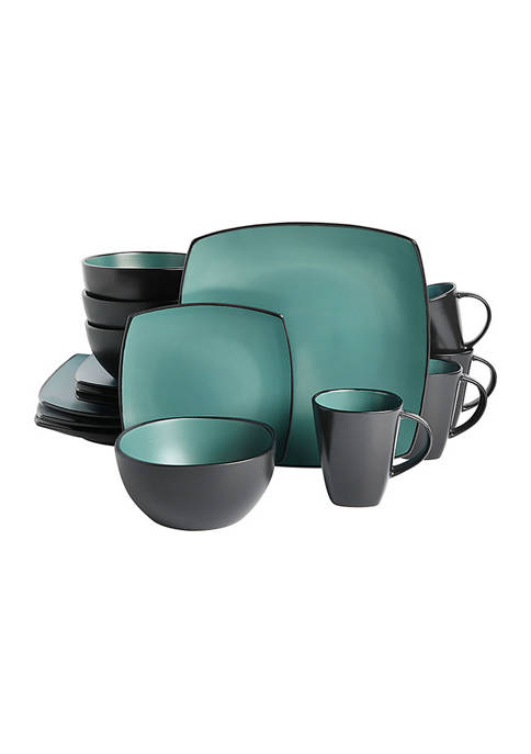 Gibson Soho Lounge Teal Matte Soft Square 16