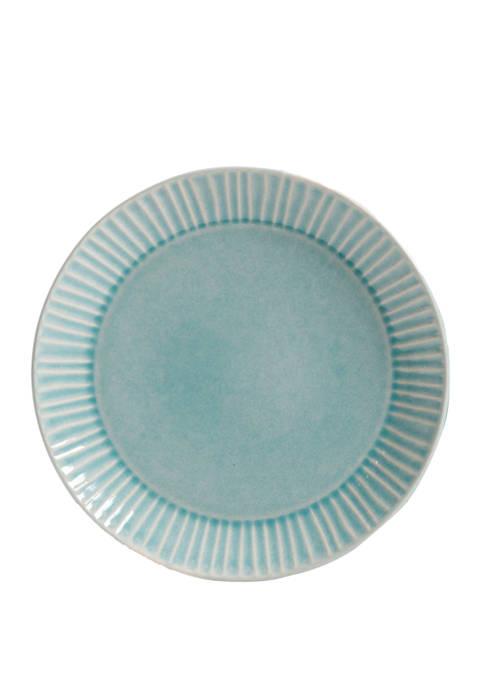 Gibson Reactive Glaze Salad Plate