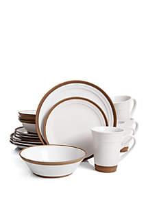 Gibson Brynn 16 Piece Dinnerware Set