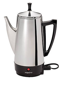 Presto 12-Cup Stainless Steel Coffee Maker 02811