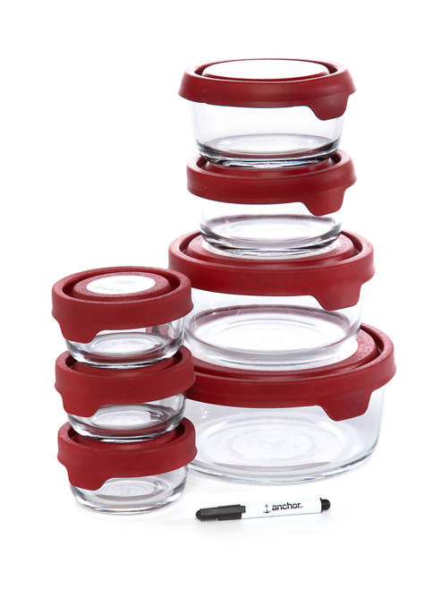Anchor Hocking 15 Piece TrueSeal™ Kitchen Storage Set