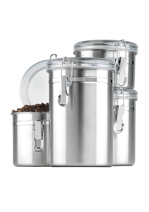 Anchor Hocking Stainless Steel Canister Set