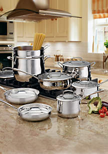 Contour Stainless Steel 13-Piece Cookware Set
